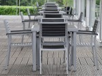 Aluminium & Hardwood Chair Hire