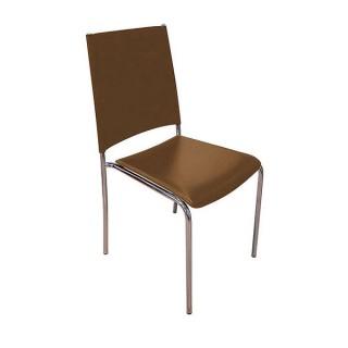 Dark Brown Leather Torino Chair