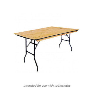 4ft x 2ft 6in Trestle Table