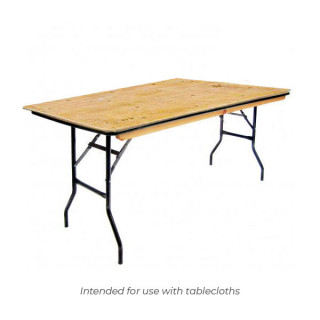 8ft x 2ft 6in Trestle Table