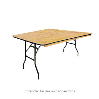 6ft x 4ft Trestle Table