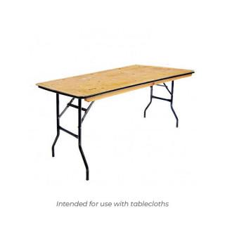6ft x 2ft Trestle Table