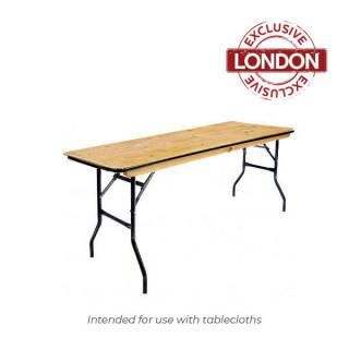 6ft x 1.5ft Trestle Table