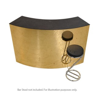 Curved Gold Starlight Bar Unit