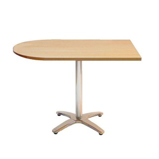 Natural Curved End Table Hire