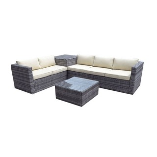 5 Seater Grace Outdoor Rattan Corner Set