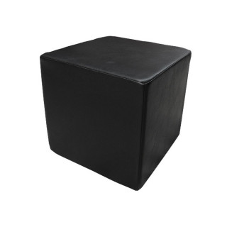 Black Cube Stool
