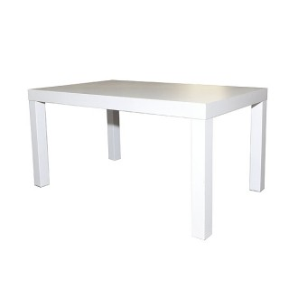 Rectangular White Coffee Table