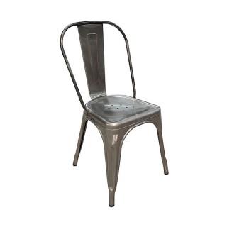 Gun Metal Tolix Chair Hire