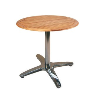 Teak & Aluminium Cafe Table