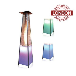 Outdoor LED Pyramid Patio Heater LPG