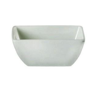 White China Square Salad Bowl