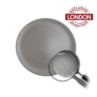 Mattone Plate Grey 27cm