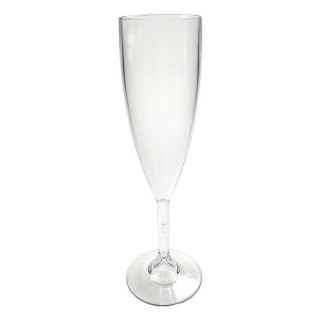Reusable Polycarbonate Elite Champagne Flute 7oz
