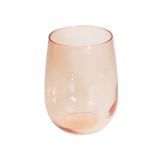 Luna Red Water Glass 17oz