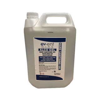 1 x 5L Alcohol Hand Sanitiser £34.99 (Note: non-r/f if unused)