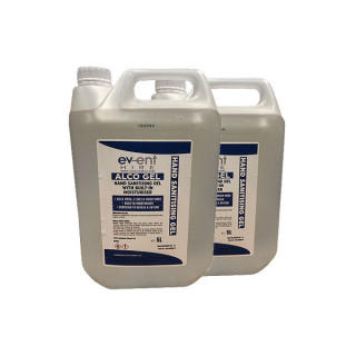 2 x 5L Alcohol Hand Sanitiser £69.98 (Note: non-r/f if unused)