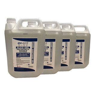 4 x 5L Alcohol Hand Sanitiser £139.96 (Note: non-r/f if unused)