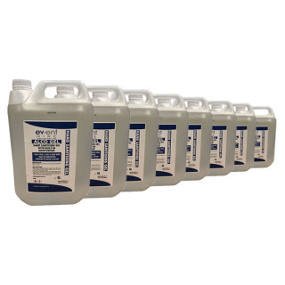 8 x 5L Alcohol Hand Sanitiser £279.92 (Note: non-r/f if unused)