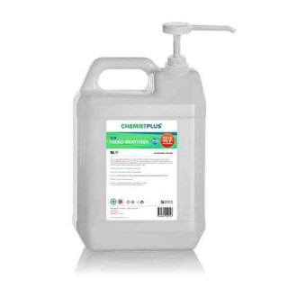 5L Sanitiser Gel With Pump (Pack of 2)