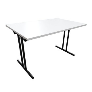 White Office Folding Table