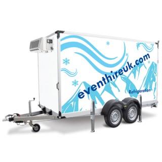 3.6m Mobile Trailer Freezer