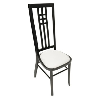 Black Calcutta High Back Chair