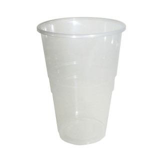 Disposable Pint To Brim Flexy Glass (Pack of 100)