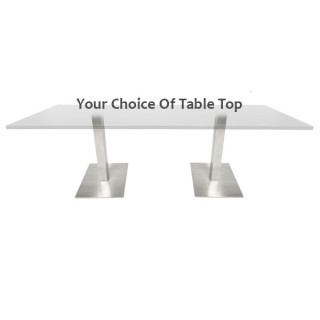 Dual Piazza Bistro Table