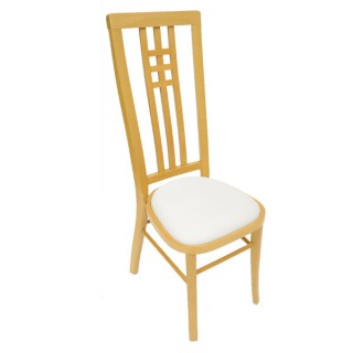 Natural Calcutta High Back Chair