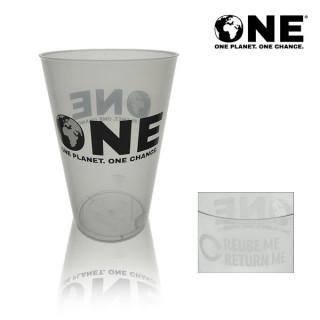 ONE Planet ONE Chance® Polypropylene Reusable Pint 22oz