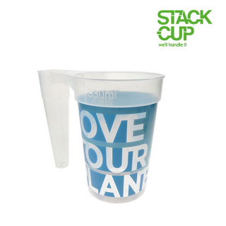STACK-CUP™ Love Your Planet Reusable Half Pint