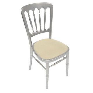 Silver Napoleon Chair
