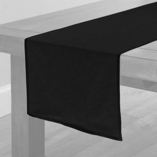 Black Fabric Table Runner