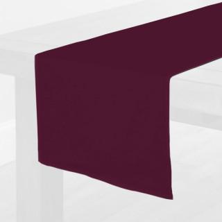 Burgundy Fabric Table Runner