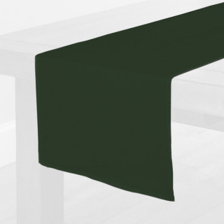 Forest Green Fabric Table Runner