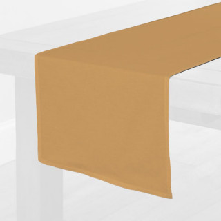 Gold Fabric Table Runner