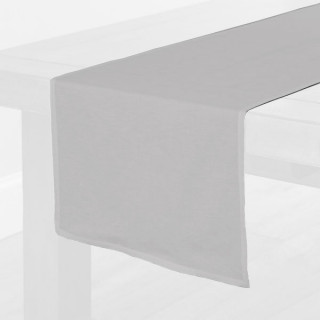 Grey Fabric Table Runner