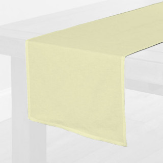 Ivory Fabric Table Runner