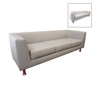 Infiniti 3 Seater Leather Sofa