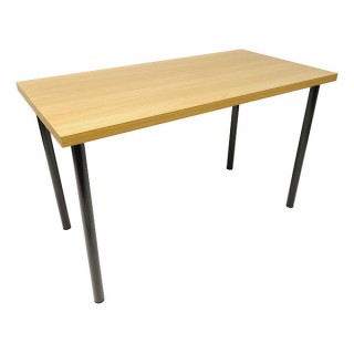 Beech Effect Rectangular Table