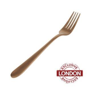 Enamor Copper Dinner Fork