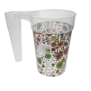 STACK-CUP™ Festival Reusable Plastic Pint