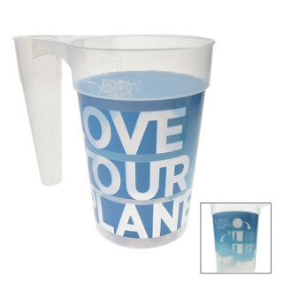 STACK-CUP™ Planet Reusable Plastic Pint + Deposit Scheme