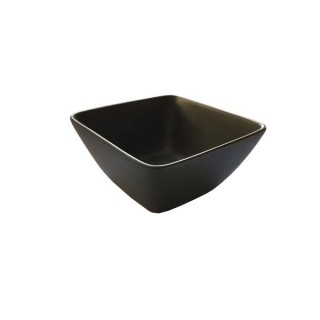 Matt Black Square Tasting Bowl