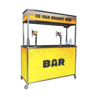 Draught Mobile Bar Dispenser Unit