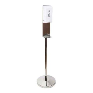 Freestanding Hand Sanitiser Dispenser Chrome Stand