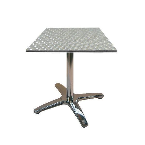 Jem Aluminium Square Table