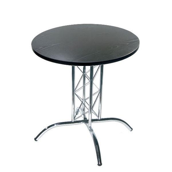Black Lattice Table