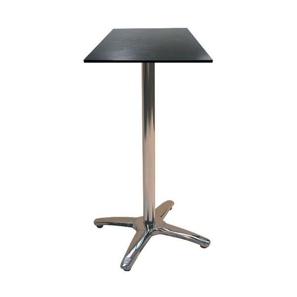 Jem Square Black Poseur Table